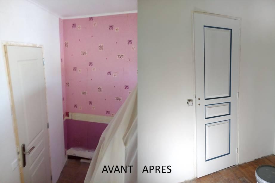Rénovation et décoration d'un pavillon. Bures-sur-Yvette